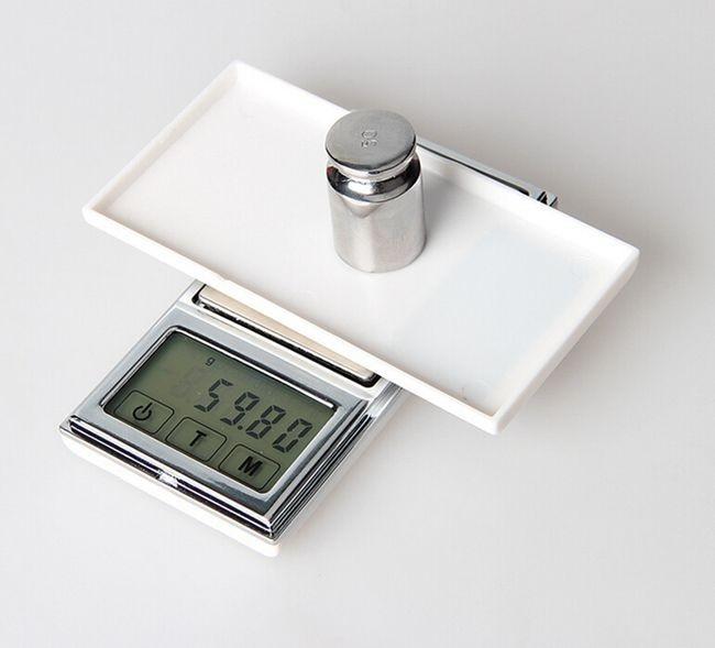Ekran dotykowy Cyfrowa kieszeń CR2032 o wadze 100x0.01 Gram Carat - Przyrządy pomiarowe - Zdjęcie 4