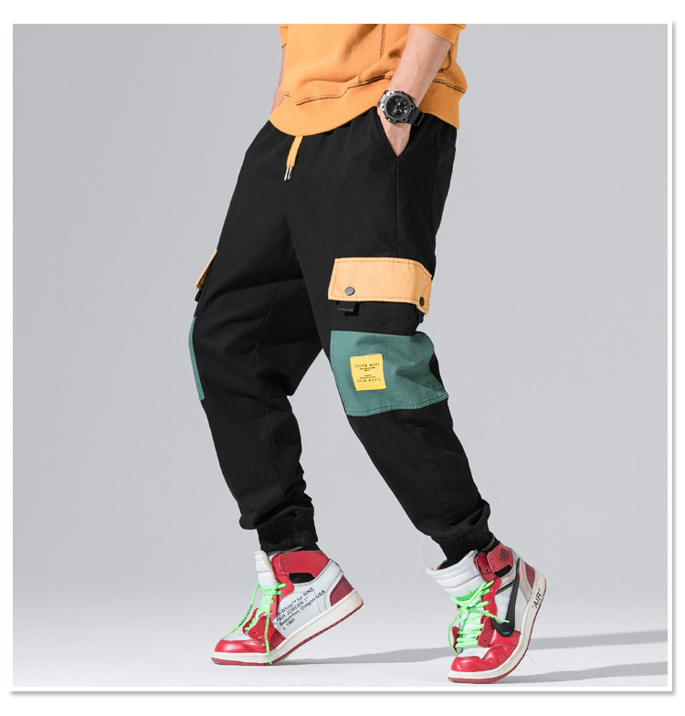 Harem Pants Pants High Quality Cotton Camouflage Pants Fashion Haren Pants Men Skateboard Hip Hop Original Design Multi Pockets Trousers Men