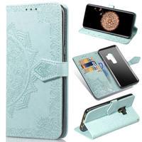 S6 S7 S8 S9 Plus funda para Samsung Galaxy A10 A20 A6 A7 A8 A9 2018 A50 A70 A51 A71 Nota 8 9 caso Flip teléfono cubierta de cuero del Coque