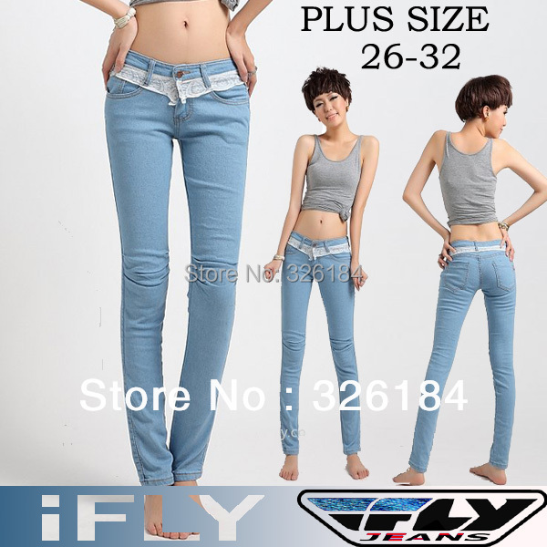 Hot Selling Factory sell direct IFLY 919L sexy Mid Waist Jeans ...