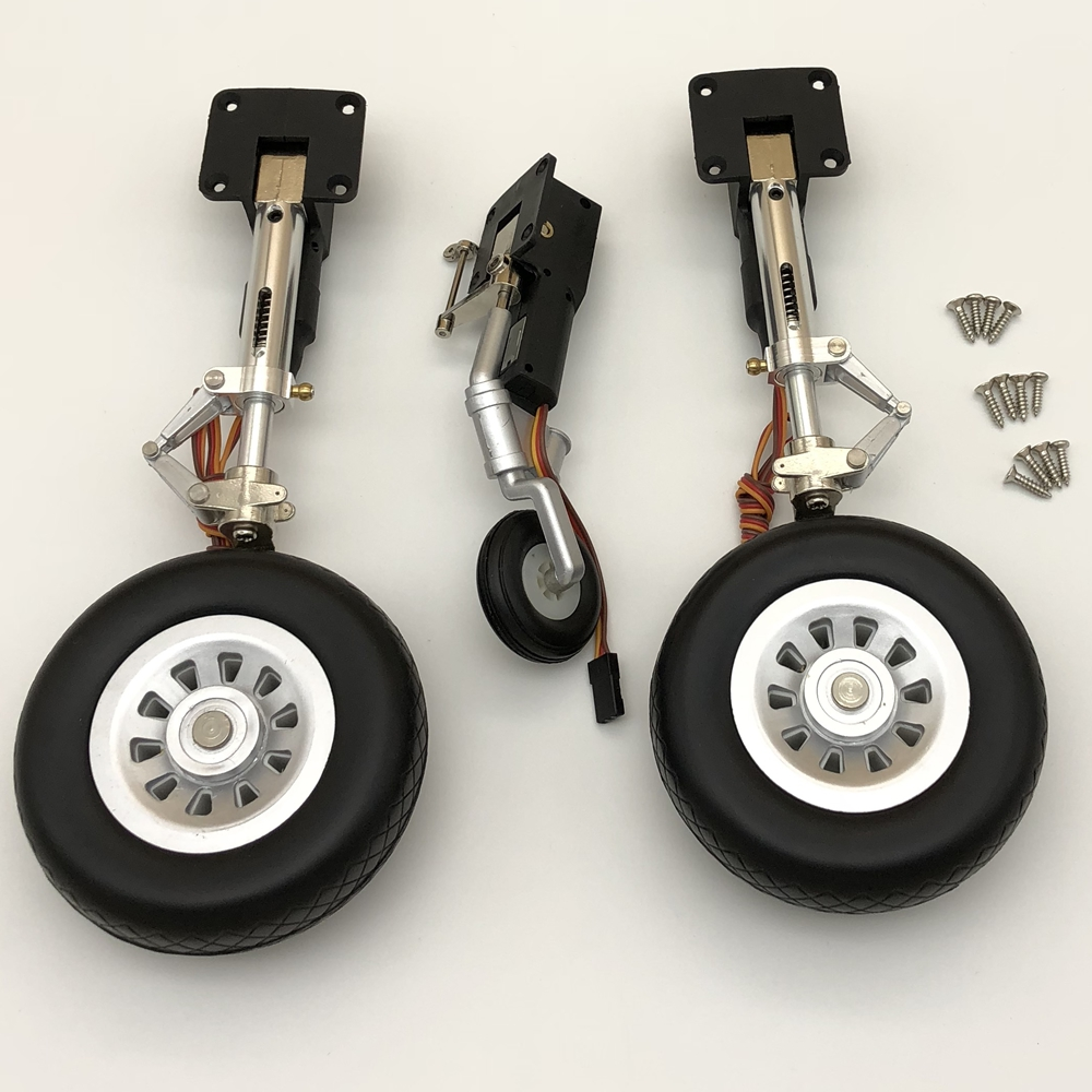Electric Retractable Landing Gear for Freewing P51