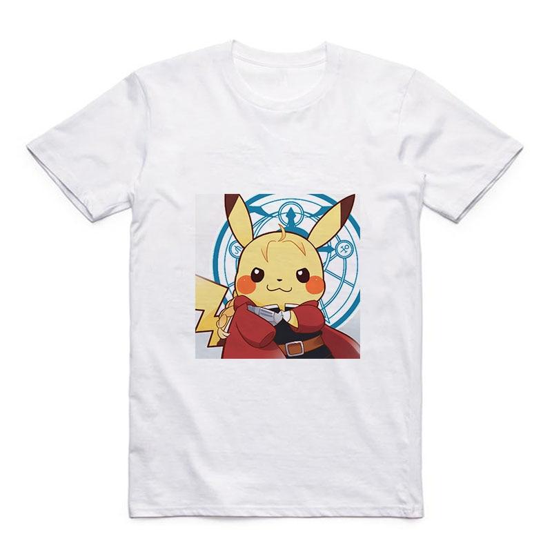 white-modal-font-b-pokemon-b-font-t-summer-new-pikachu-deadpool-cute-pattern-round-neck-men's-casual-top-gift