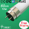 Fluorescent Replacement  T8 10w led 600mm 880lumen  2PCS/slot  led tubes light  for home 3 year warranty