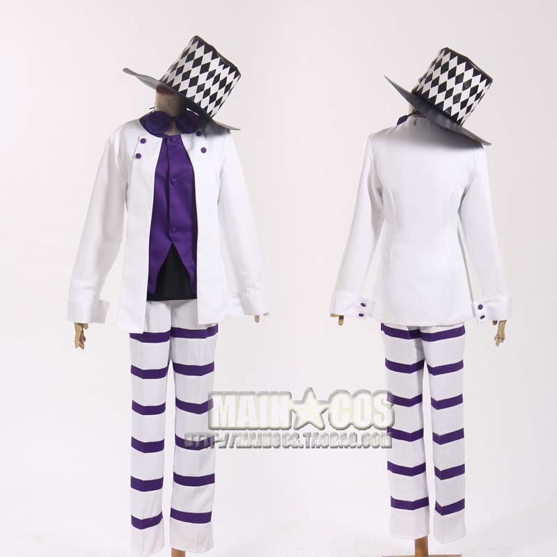2016 JoJo's Bizarre Adventure movie Caesar Anthonio Zeppeli Cosplay Costume with hat