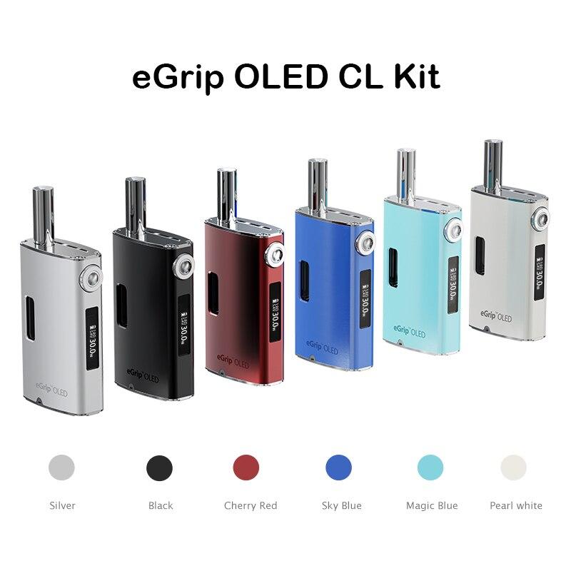 Original Joyetech eGrip VT/eGrip OLED CL Kit 30 W caja Mod Vape con batería de 1500 mah 3,6 ml atomizador E cigarrillo vaporizador