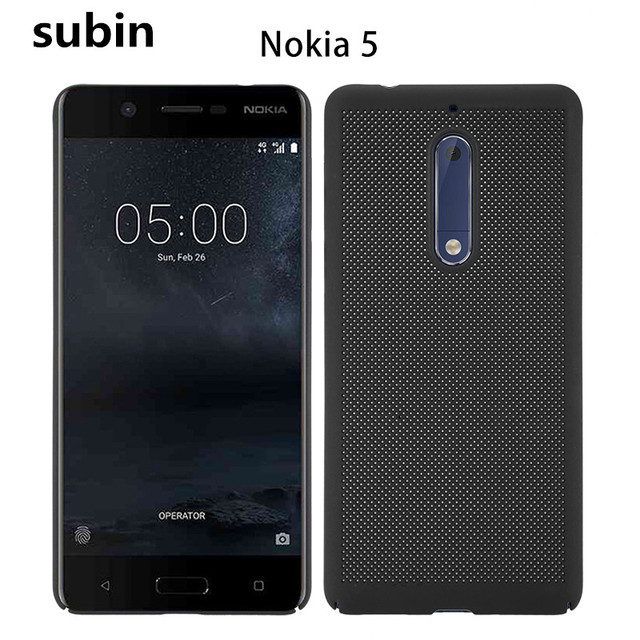 huge selection of 8c520 98e25 US $3.3  For Nokia 5 case cover Luxury Hard Frosted PC Back Cover 360 Full  Protection back cover For Nokia5 TA 1008 TA 1030 5.2'' on Aliexpress.com    ...