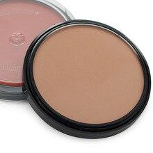 4 цвета затенение пудры макияж бронзер и хайлайтер Порошковые тени для контуров лица Пудра для стрижки Макияж Косметический консилер для лица