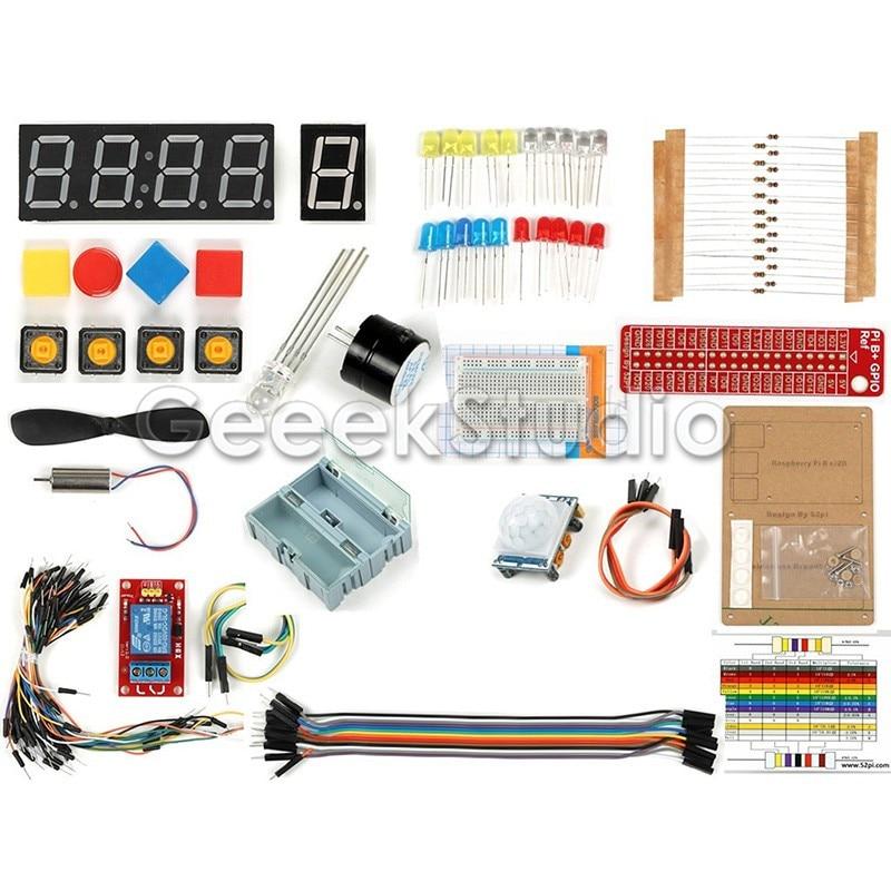 GPIO DIY Starter Kit for Raspberry Pi 3 Model B цена
