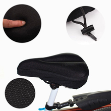 3D soft bicycle seat breathable bicycle saddle thickening mountain bike bicycle seat cushion accessories gel pad cushion cover coolchange 10005 3d soft lycra cushion bicycle saddle pad seat cover black silver