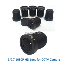 M12 2.8mm HD Lens 1/2.7 2.0MP for CCTV Camera System Board