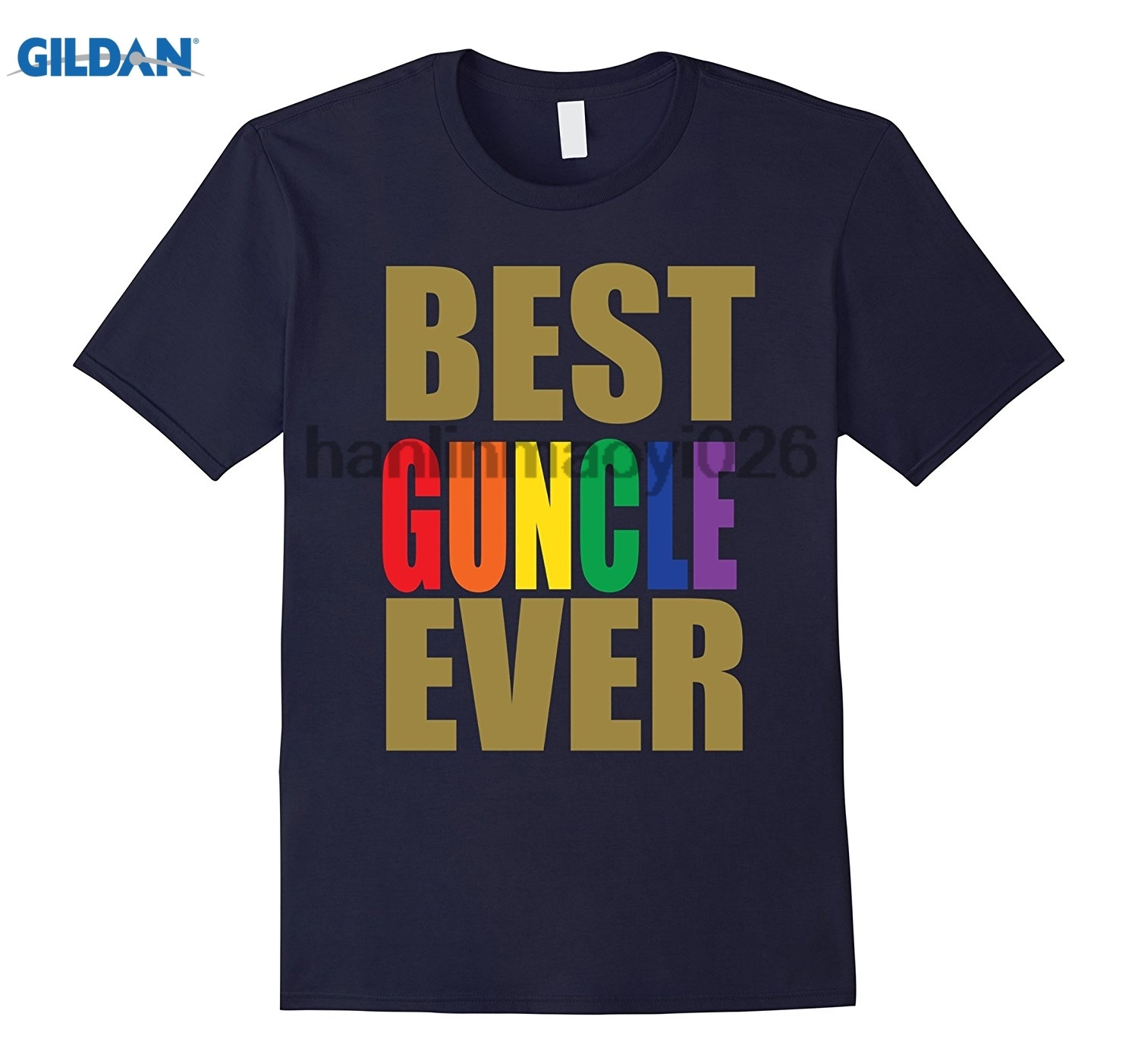 GILDAN Best Gay Uncle Guncle Pride T-Shirt ...