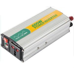 12V 24V Coche Energ/ía solar 6000W Inversor Convertidor 12V a 220V Inversor universal para coche