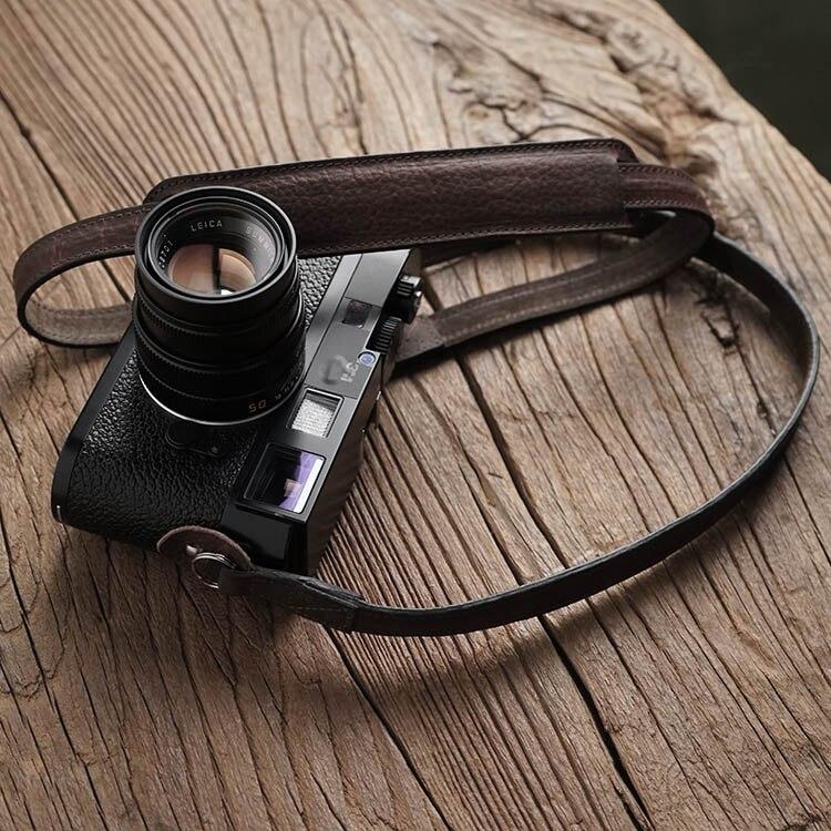 Mr.stone Handmade Genuine Leather Camera Strap Camera Shoulder Sling Belt (Shoulder support)