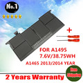 "Wholesale new  Laptop Battery For FOR Apple  MacBook Air 11"" A1465 A1495  MD711LL/A (2013) MD711/A MD712/A MD711/B MD712/B"
