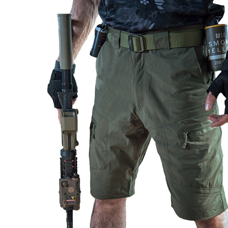Tactical Shorts Bermuda Loose-Work Military-Style Male Summer Casual Hot Nylon Men Brand-New