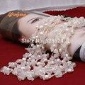 [Yinfeng] envío libre Muy de moda Suministros de Agua Dulce Collar de Perlas naturales de oro de piedra cristalina de la joyería para las mujeres regalo del partido