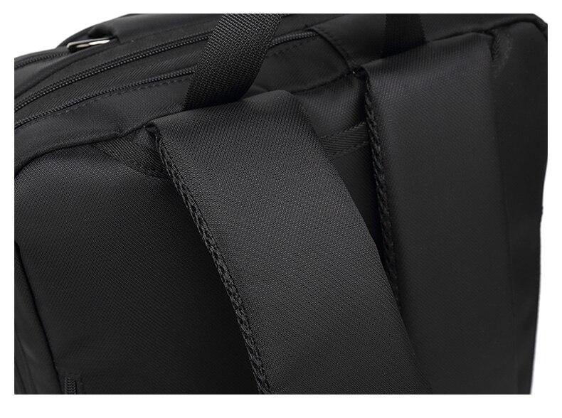HTB1pe3 TjDpK1RjSZFrq6y78VXap 17.3 Vintage Briefcases Men Office Laptop Work Bag Man Convertible Business Multifunction Computer Handbag Travel Tote Bag XA229