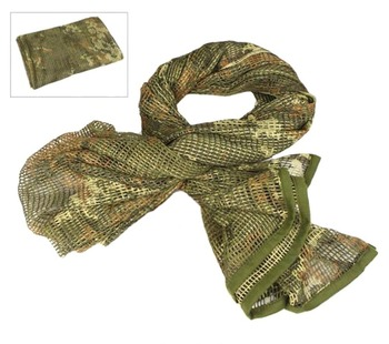 VILEAD Military Camouflage Tactical Mesh Breathbale Scarf Sniper Face Veil Scarves For Camo Airsoft Hunting Cycling Neckerchief aa shield camo tactical scarf outdoor military neckerchief forest hunting army kaffiyeh scarf light weight shemagh woodland
