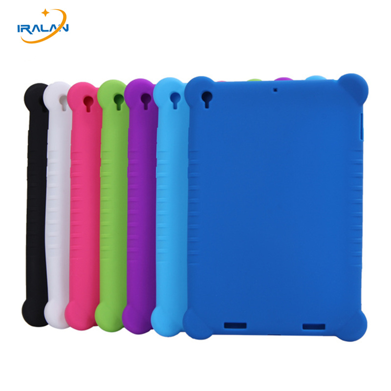 2017 New Arrivals for Xiaomi Mi Pad 1 Case for Xiaomi Mipad 1 7.9 inch Tablet PC Protective Silicone Cover 7 colors +stylus free tablet protective case shell skin for xiaomi mi pad 1 mipad 1 pu leather stand tablet cover fundas mi a0101 case screen film pen