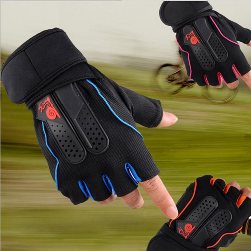 Gym-Gloves Dumbbell Weight-Lifting Half-Finger Breathable Sports Women L/XL