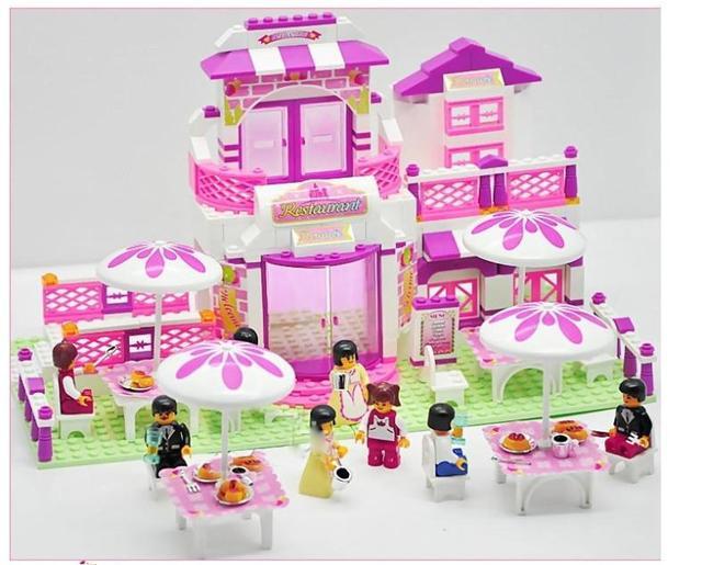 Unique Toys For Girls : Child set blocks diy kids girl toys children designer