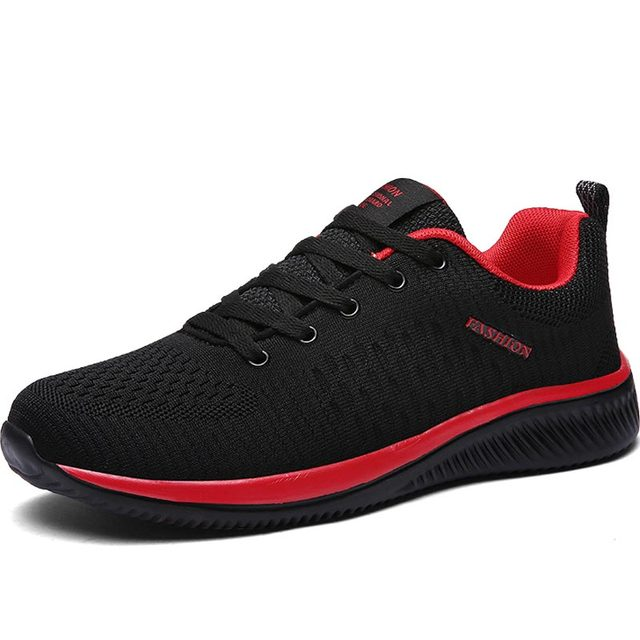 Hundunsnake Breathable Sport Shoes Men Sneakers Mens Running Shoes Sports Summer Training Shoes Men Tennis Black Trainers B-015 1