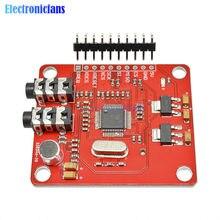 Vs1053 vs1053b módulo mp3 com slot para cartão sd vs1053b ogg gravação em tempo real 12.288 mhz cristal pcm 16 bits para arduino uno
