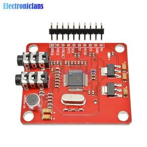 VS1053 VS1053B Module MP3 avec fente pour carte SD VS1053B Ogg enregistrement en temps réel 12.288 Mhz cristal 16 bits PCM pour Arduino Uno