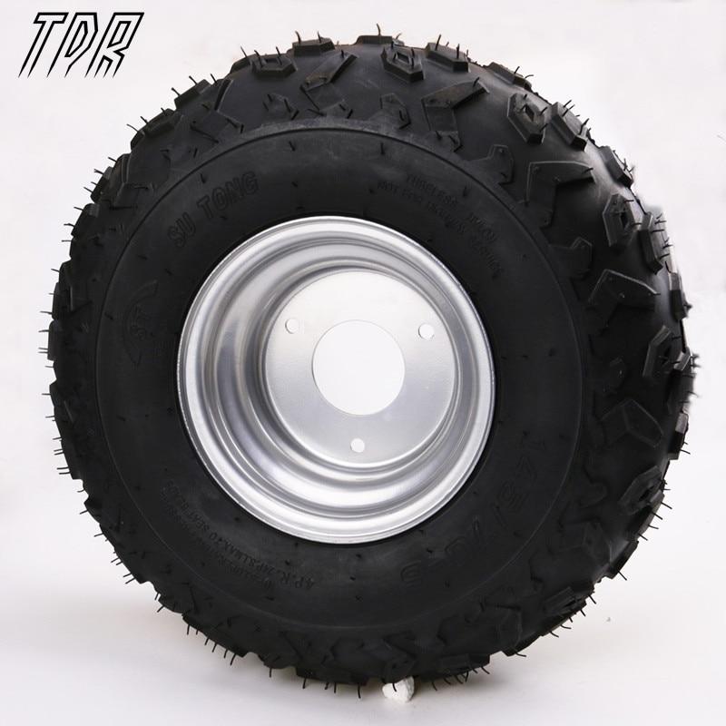 "TDR Newin Go Karts 4x 145/70 6"" inch Wheel Rim + Tyre Tire"