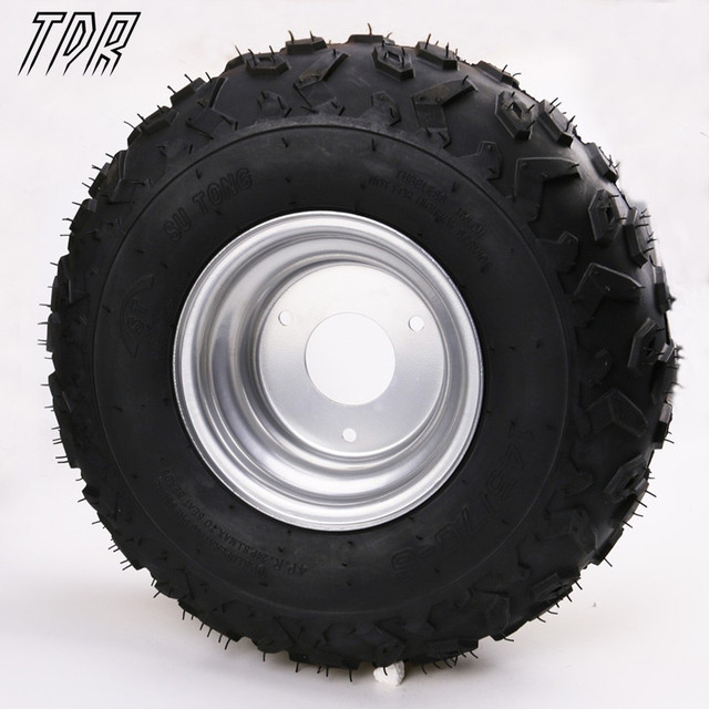 "TDR Newin Go Karts 4x 145/70- 6"" inch Wheel Rim + Tyre Tire 50cc 110cc Quad Dirt Bike ATV Buggy Free Shipping HHY"