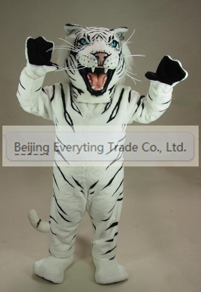 Hot sale 2017 Adult cartoon character cute white tiger Mascot Costume Halloween party costumes adult size-in Mascot from Novelty u0026 Special Use on ... & Hot sale 2017 Adult cartoon character cute white tiger Mascot ...