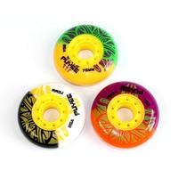 Skates Roller 85A Solid Inline Skating Wheel For FSK Slalom 72 76 80mm PUYEE Wheels For