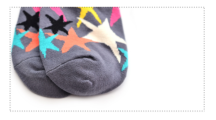 a58f6083d Plus Size 2018 Warm Thick Thermo Happy Socks Five Star Personality ...