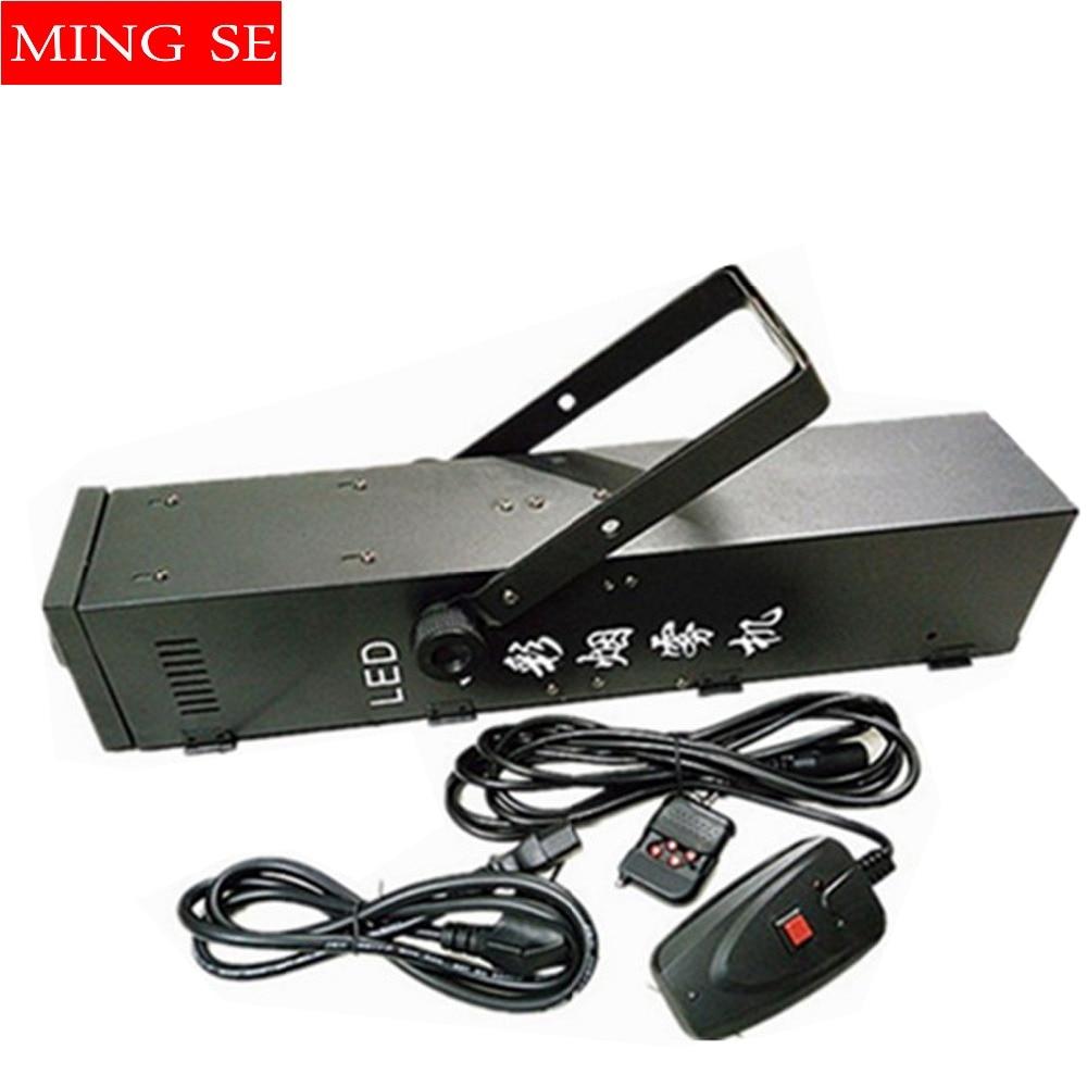 Mlhací stroj RGB 3v1 LED 1500W kouřový stroj profesionálního DJ vybavení