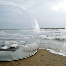 Открытый Кемпинг надувной пузырь палатка игрушка палатка DIY Дом купол Кемпинг домик воздушный пузырь
