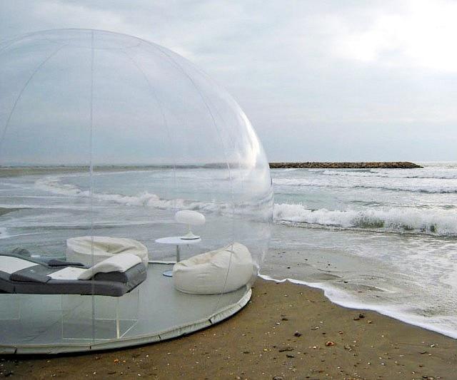 Camping en plein Air gonflable bulle tente jouet tente bricolage maison dôme Camping Lodge Air bulle