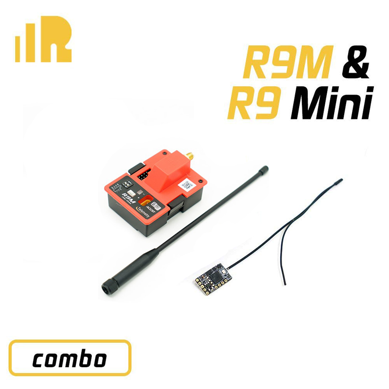 FrSky R9M Module And R9mini R9 Mini 900MHz Receiver Combo Long Range Extender