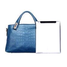 Frauen Handtaschen Sets Pu-leder Handtasche Frauen Messenger Bags Design Damen Handtasche + Schultertasche Geldbörse 3 Sätze LT88