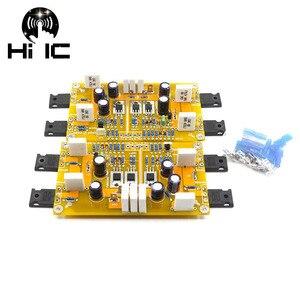 Image 2 - Плата усилителя мощности класса А, 2 канала А3, Одноконтурный усилитель мощности 30 Вт + 30 Вт, сбалансированный и несимметричный ввод усилителя DIY (готовая плата)