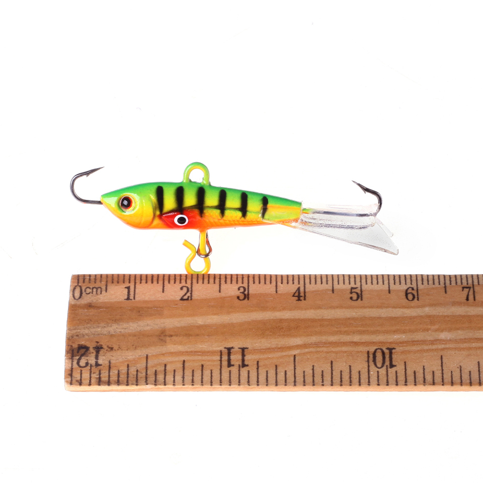 1PCS Quality Fishing Lure <font><b>60mm</b></font> 9.3g Winter Ice Fishing Hard Bait <font><b>Minnow</b></font> Pesca Isca Artificial Bait Crankbait Swimbait Tackle image