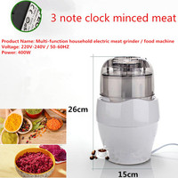 Multifunctional Meat Grinder Food Mixer Cooking Machine Minced Meat Pulverizer Fruit Salad Seasoning Kitchen Tools