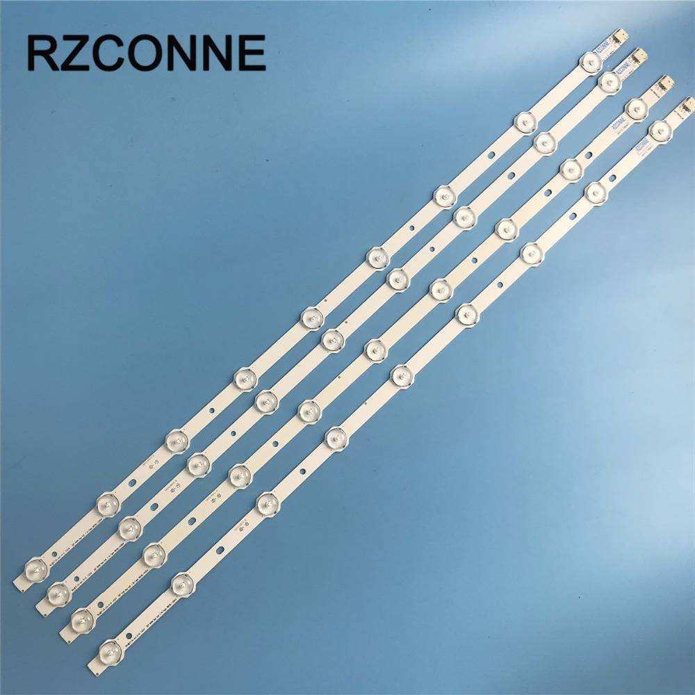 4pcs Led Strip 9leds For Lg 32 Row Rev0.9 A/b-type 6916l-1030a 6916l-1031a 6916l-0923a 6916l-0881a Lc320dxn Se R1 Led32a2000v Outstanding Features Computer Cables & Connectors