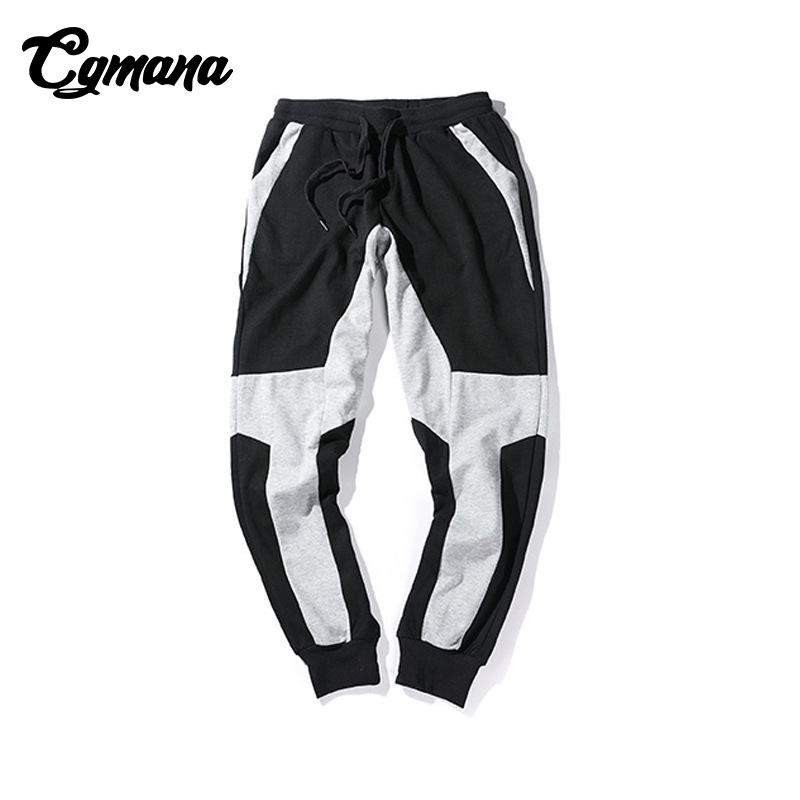 CGmana Pants Men Sweat Pants Male 2018 Plus Size 5XL Jogger Mens Sweatpants Cotton Men Fitness Bodybuilding Casual Pants Homme