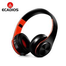 Ecadios E08 Cuffie Senza Fili Bluetooth Headset Pieghevole Stereo Audio  Auricolari Regolabili con Microfono Per PC Del Telefono . c1977f53e0cb