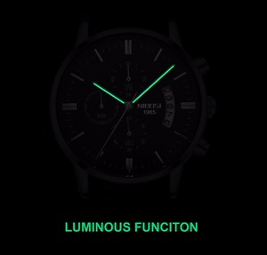Image 4 - NIBOSI Uhr Männer Wasserdicht Casual Luxury Marke Quarz Militär Sport Uhr Business Uhr männer Armbanduhren Relogio Masculino