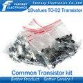 Набор транзистор 18 видов/10 шт. каждого = всего 180шт.2N2222 S9012 S9013 S9014 A1015 C1815 S8050 S8550 TO-92  бесплатная доставка