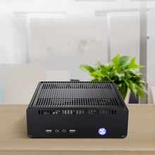 Realan Aluminum Mini ITX  Case E- K3 with 120W Power Supply