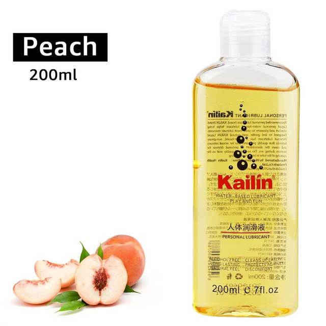 fruit flavor anal grease for sex lubricant lube gel Vagina lubrication 200ml fruit taste water based oil lubricante sexual 3