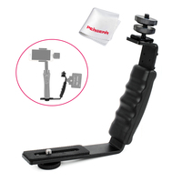 Pergear L Bracket For Photography Microphone Stand Zhiyun Smooth Q 3 4 Crane 2 With 2