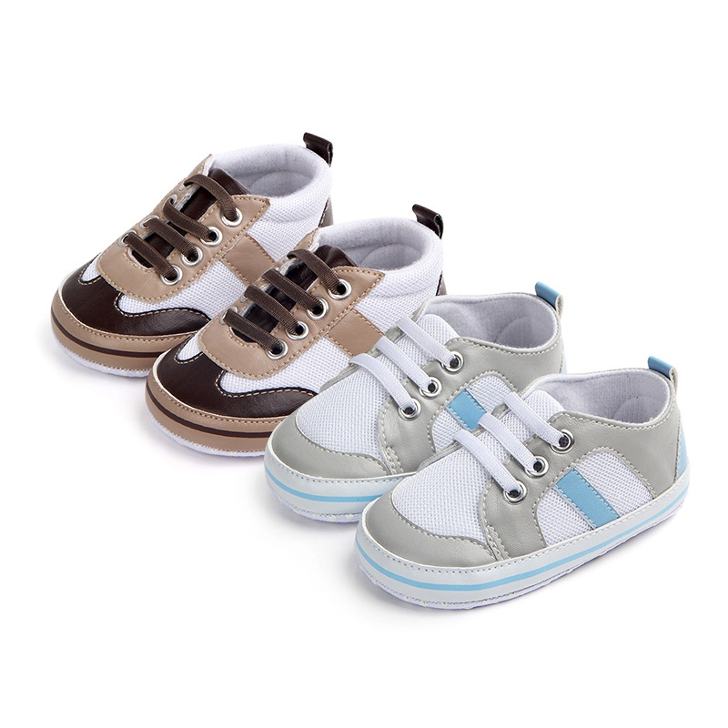 Baby Shoes for Boy Girls Spring Autumn Kids Soft Sole Anti-slip First Walkers Casual Walking Crib Shoes